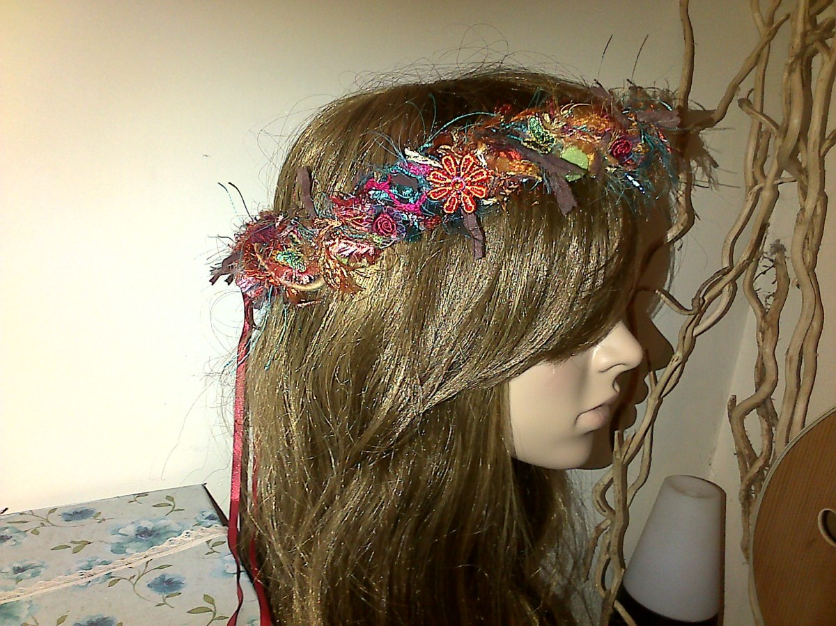 Fairy Hair Garland at Funkycrafts