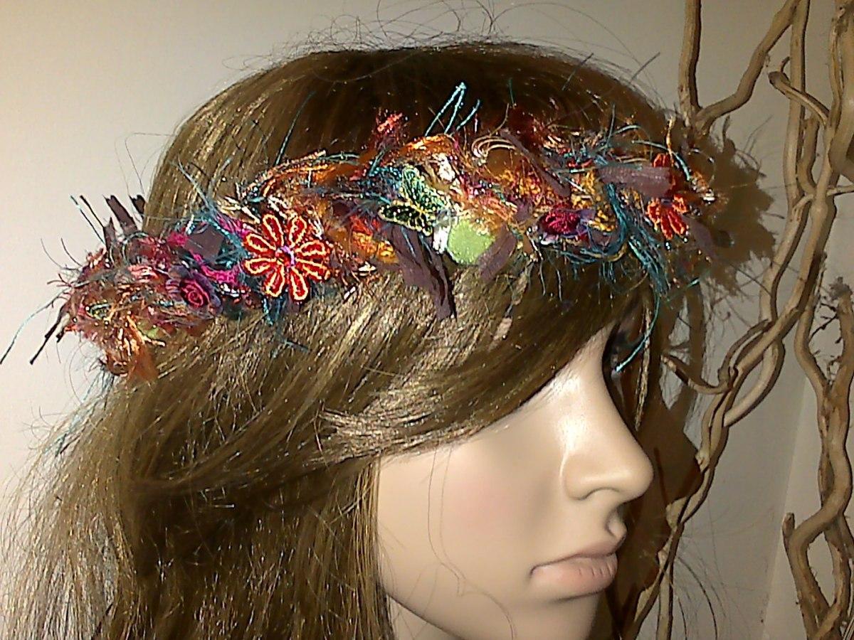 fairy hair garland