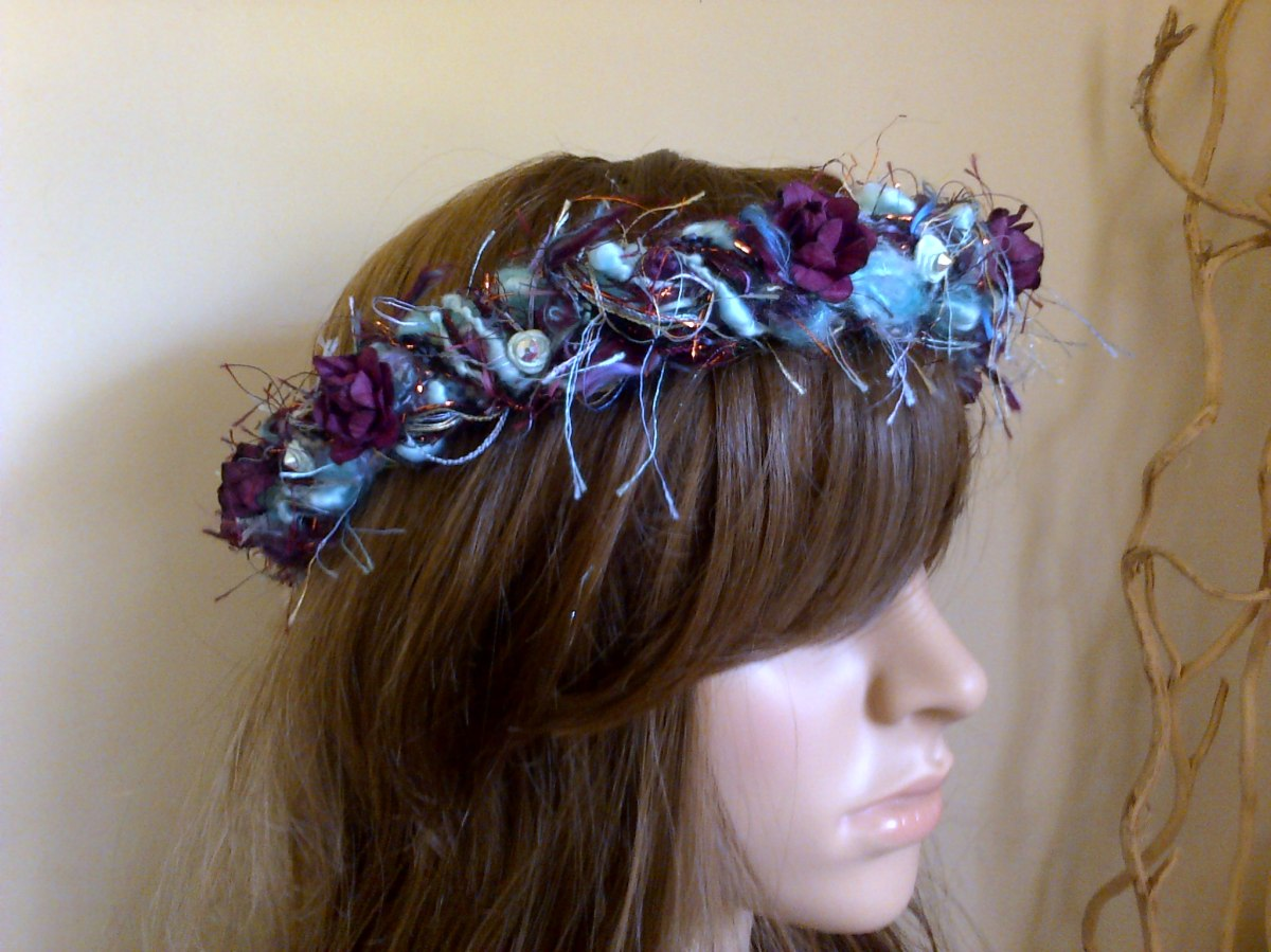 fairy hair garlands at Funkycrafts