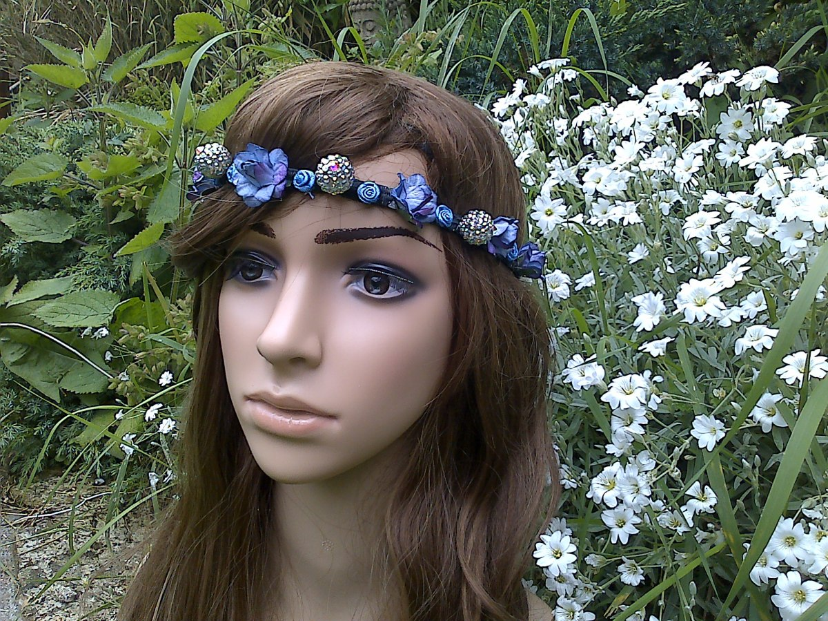 fairy hair garland at funkycrafts