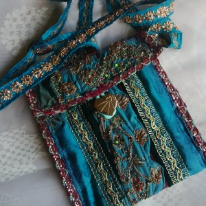 handmade hippy bag at funkycrafts beaminster